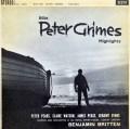 【オリジナル盤】ブリテンの自作自演/歌劇「ピーター・グライムズ」抜粋  英DECCA 3007 LP レコード