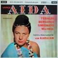 【オリジナル盤】カラヤンのヴェルディ/「アイーダ」抜粋  英DECCA 3007 LP レコード