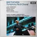 シュミット=イッセルシュテットのベートーヴェン/交響曲第9番「合唱付き」   英DECCA 3007 LP レコード