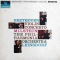【未開封・モノラル】ミルシュタインのベートーヴェン/ヴァイオリン協奏曲ニ長調  英Columbia 3008 LP レコード