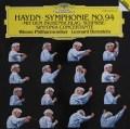 バーンスタインのハイドン/交響曲第94番「驚愕」ほか  独DGG 3008 LP レコード