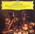 ウィーン室内合奏団のハイドン/フルート四重奏曲第1〜4番  独DGG 3008 LP レコード