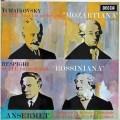 リッチ&アンセルメのチャイコフスキー/組曲第4番「モーツァルティアーナ」ほか  英DECCA 3008 LP レコード