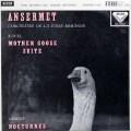 アンセルメのラヴェル/「マ・メール・ロワ」ほか  英DECCA 3008 LP レコード