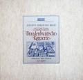 リヒターのバッハ/ブランデンブルク協奏曲全曲  独ARCHIV 3008 LP レコード