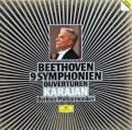 【特価】カラヤンのベートーヴェン/交響曲全集&序曲集  独DGG 3008 LP レコード