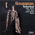 サザーランド&ボニングのロッシーニ/歌劇「セミラーミデ」全曲  英DECCA 3008 LP レコード