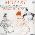 ヘブラーのモーツァルト/ピアノソナタ第2、3、5、15番   蘭PHILIPS 3009 LP レコード