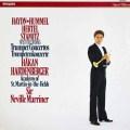ハーデンベルガー&マリナーのトランペット協奏曲集   蘭PHILIPS 3009 LP レコード
