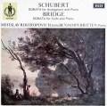 ロストロポーヴィチ&ブリテンのシューベルト/「アルペジオーネ」ソナタほか  英DECCA 3009 LP レコード