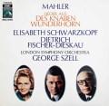セルのマーラー/「子どもの不思議な角笛」  独EMI 3011 LP レコード