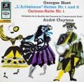 【独最初期盤】クリュイタンスのビゼー/「アルルの女」&「カルメン」組曲  独Columbia 3011 LP レコード