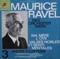 クリュイタンスのラヴェル/「マ・メール・ロワ」&「高雅で感傷的なワルツ」   独Columbia 3011 LP レコード