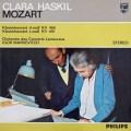 ハスキル&マルケヴィチのモーツァルト/ピアノ協奏曲第20&24番  蘭PHILIPS 3011 LP レコード