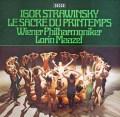 マゼールのストラヴィンスキー/「春の祭典」   独DECCA 3011 LP レコード