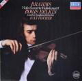 ベルキン&フィッシャーのブラームス/ヴァイオリン協奏曲  独DECCA 3011 LP レコード