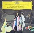 カラヤンのモーツァルト/「アイネ・クライネ・ナハトムジーク」 &ディヴェルティメント第15番 独DGG 3011 LP レコード