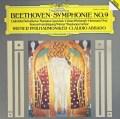 アバドのベートーヴェン/交響曲第9番「合唱付き」  独DGG 3011 LP レコード