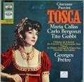 カラス&プレートルのプッチーニ/「トスカ」全曲   独ELECTROLA 3011 LP レコード