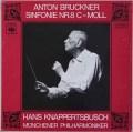 【ヨーロッパ最初期盤】クナッパーツブッシュのブルックナー/交響曲第8番  独CBS 3011 LP レコード