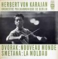 カラヤンのドヴォルザーク/交響曲第9番「新世界より」 仏EMI(VSM) 3012 LP レコード