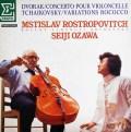 ロストロポーヴィチと小澤のドヴォルザーク/チェロ協奏曲 仏ERATO 3012 LP レコード