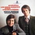 アモイヤル&ベロフのプロコフィエフ/ヴァイオリンソナタ第1&2番 仏ERATO 3012 LP レコード