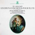 ランパル&グシュルバウアーのモーツァルト/フルート協奏曲第1&2番 仏ERATO 3012 LP レコード