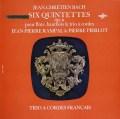 ランパル&ピエルロらのJ.C.バッハ/五重奏曲集 仏ERATO 3012 LP レコード