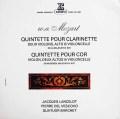 ランスロらのモーツァルト/クラリネット五重奏曲ほか 仏ERATO 3012 LP レコード