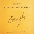 フルトヴェングラーのブラームス/ピアノ協奏曲第2番&交響曲第4番 仏WF協会 3012 LP レコード