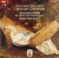 デュ・プレ&バレンボイムのシューマン/チェロ協奏曲ほか 独EMI 3012 LP レコード