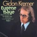 クレーメルのイザイ/無伴奏ヴァイオリンソナタ全曲 独eurodisc 3012 LP レコード