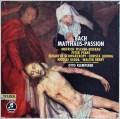 クレンペラーのバッハ/「マタイ受難曲」全曲 独Columbia 3012 LP レコード