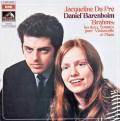 デュ・プレ&バレンボイムのブラームス/チェロソナタ第1&2番 仏EMI(VSM) 3013 LP レコード