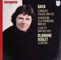 ヴェルレのバッハ/「イタリア協奏曲」&「フランス風序曲」ほか 仏PHILIPS 3013 LP レコード