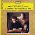 リッチ&ビテッティのパガニーニ/ヴァイオリンとギターのための作品集 仏DGG 3013 LP レコード