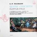 レーデルのテレマン/協奏曲集 仏ERATO 3013 LP レコード
