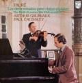 グリュミオー&クロスリーのフォーレ/ヴァイオリンソナタ集 蘭PHILIPS 3013 LP レコード