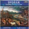 ケルテスのドヴォルザーク/交響曲第7番 英DECCA 3013 LP レコード