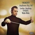 【オリジナル盤】ウェラーのプロコフィエフ/古典交響曲&第7番「青春」 英DECCA 3013 LP レコード