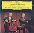 フルニエ&ケンプのベートーヴェン/チェロソナタ第5番ほか 独DGG 3013 LP レコード