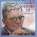 【テストプレス】コンドラシンのショスタコーヴィチ/交響曲第1-4番 独eurodisc 3013 LP レコード
