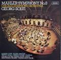 【オリジナル盤】ショルティのマーラー/交響曲第8番「千人の交響曲」 英DECCA 3013 LP レコード