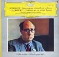 ロストロポーヴィチのシューマン/チェロ協奏曲ほか 独DGG 3014 LP レコード