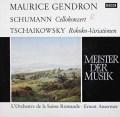 ジャンドロン&アンセルメのシューマン/チェロ協奏曲ほか 独DECCA 3014 LP レコード
