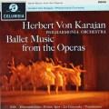 カラヤン/オペラ・バレエ曲集 英Columbia 3014 LP レコード
