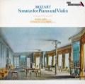 ルプー&ゴールドベルクのモーツァルト/ヴァイオリンソナタ第35&43番 英DECCA 3014 LP レコード