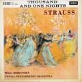 【オリジナル盤】ボスコフスキーのJ.シュトラウス2世/「千夜一夜物語」ほか 英DECCA 3014 LP レコード