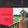 【オリジナル盤】ランパル&ラクロワのバッハ/フルートソナタ集 仏ERATO 3014 LP レコード